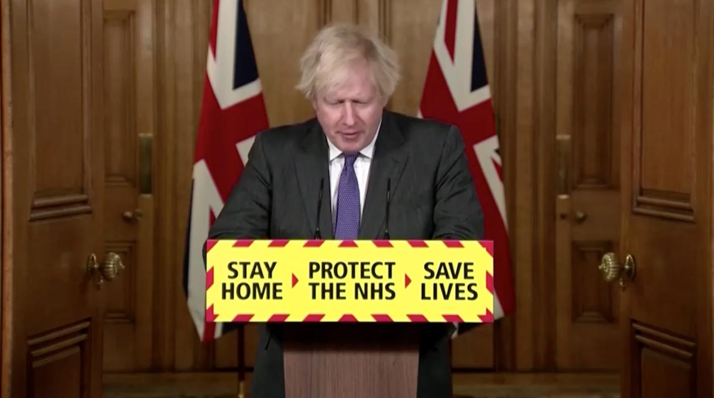 Thủ Tướng Boris Johnson cho biết có bằng chứng cho thấy chủng coronavirus ở Anh Quốc có nguy cơ gây tử vong cao hơn