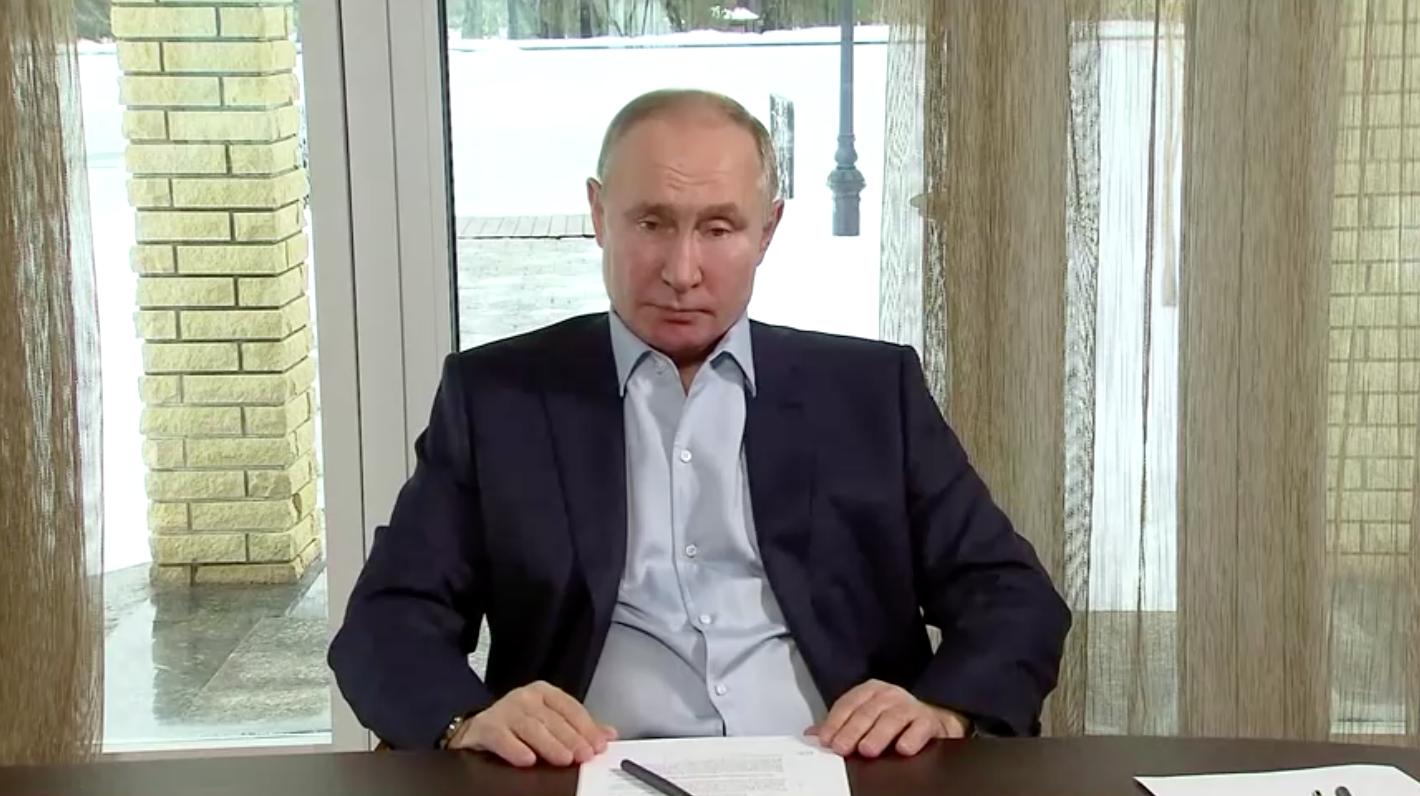 Tổng Thống Nga gọi các cuộc biểu tình ủng hộ ông Navalny là bất hợp pháp