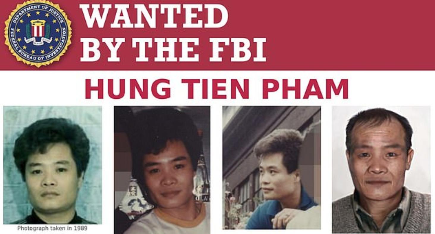 Hung thủ bắn sáu người ở Chinatown vào 30 năm trước hiện vẫn tại đào