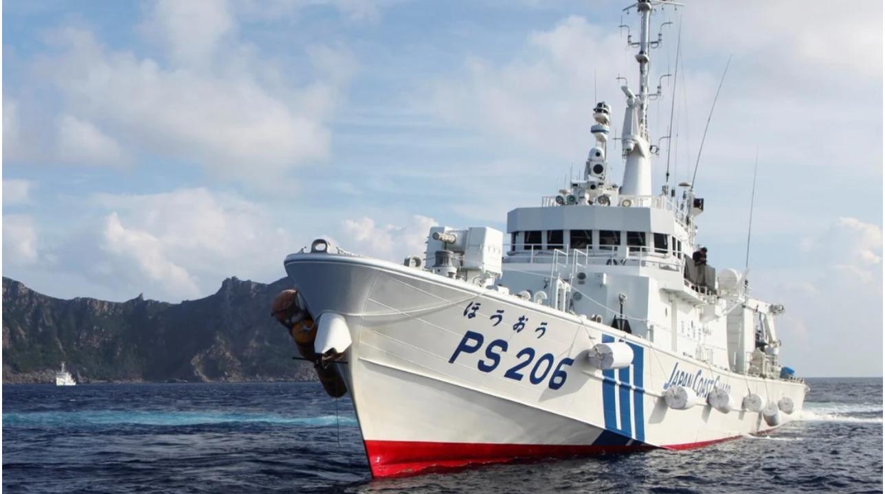 Nhật Bản phản đối tàu TrungCộng xuất hiệngần các đảo tranh chấp ở biển Hoa Đông
