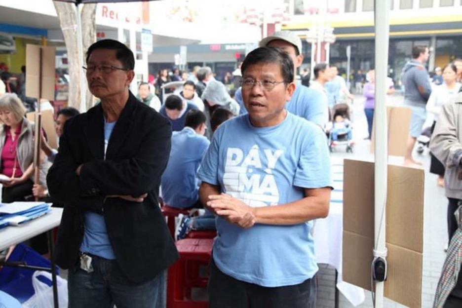 Dânbiểu Chris Hayes lên tiếng trước Quốc hội Liên bang Úc về tù nhân chính trị Châu Văn Khảm
