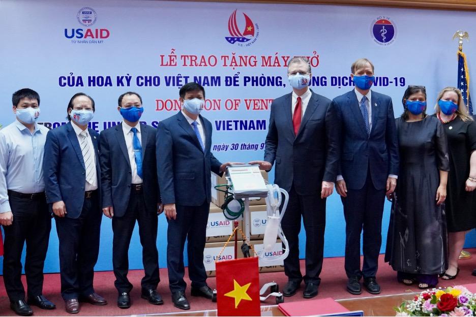 Chương trình đào tạo củaHoaKỳ giúp sinh viên y khoa Việt Nam ứng phó với COVID-19