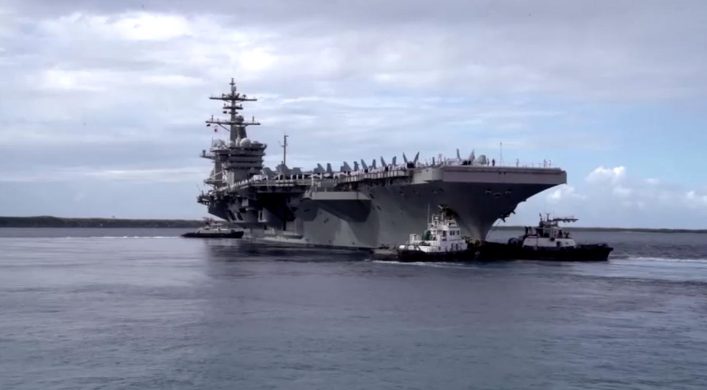 Chiến hạm Hoa Kỳ lần đầu tiên đi qua eo biển Đài Loan dưới thời Biden