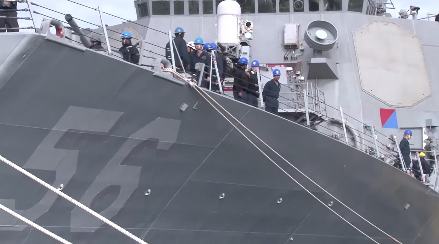 Chiến hạm Hoa Kỳ di chuyển gần quần đảo Hoàng Sa