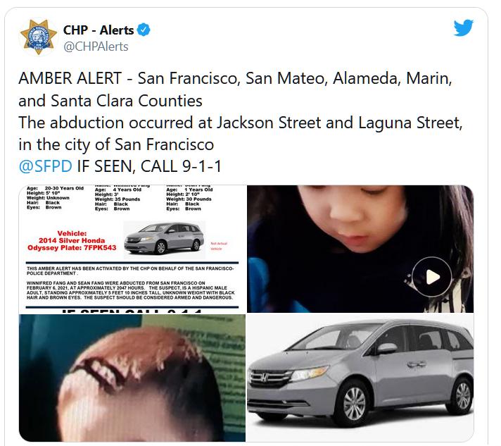 Hai đứa trẻ mắc kẹt trong xebị đánh cắp vẫn an toàn