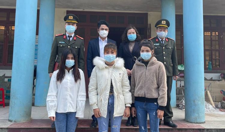 3 phụ nữ Cambodia được giải cứu khỏi những kẻ buôn người ở Việt Nam