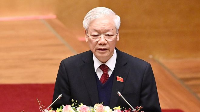 Nguyễn Phú Trọng tuyên bố các vấn đề trên biển Đông được giải quyết tế nhị và rất tốt