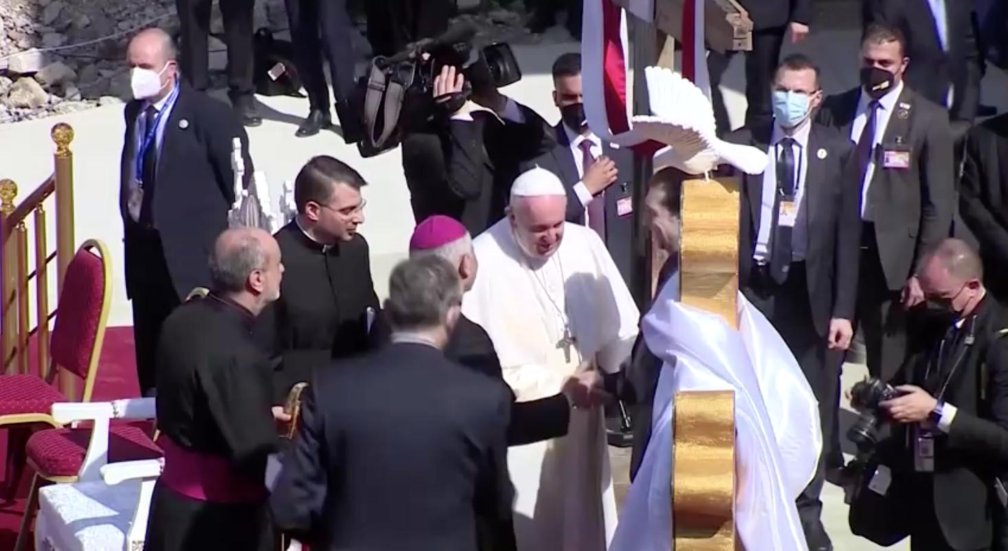 Đức Giáo Hoàng Francis thăm các nhà thờ bị ISIS phá hủy ở miền Bắc Iraq