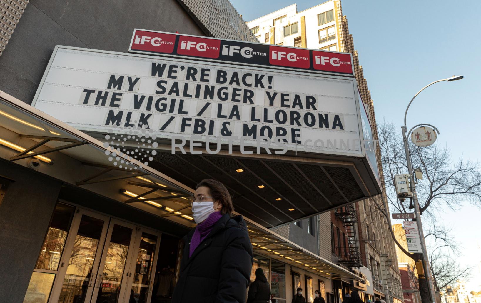 Người dân thành phố New York vẫn không đến rạp chiếu phim dù các địa điểm này đã được phép mở cửa trở lại