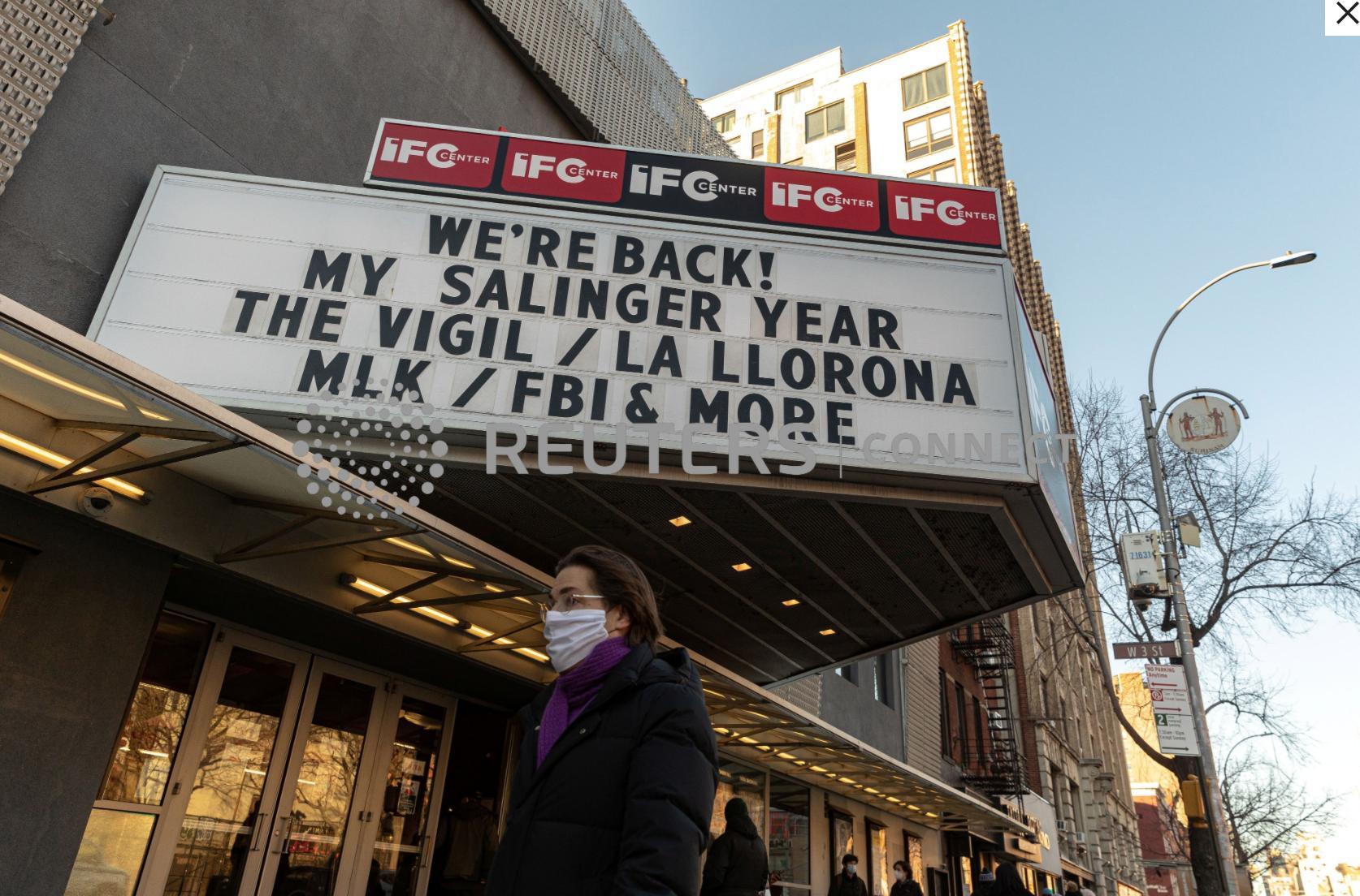 Các rạp chiếu phim ở Los Angeles có thểđượcmở cửa vào tuần tới với sức chứa hạn chế