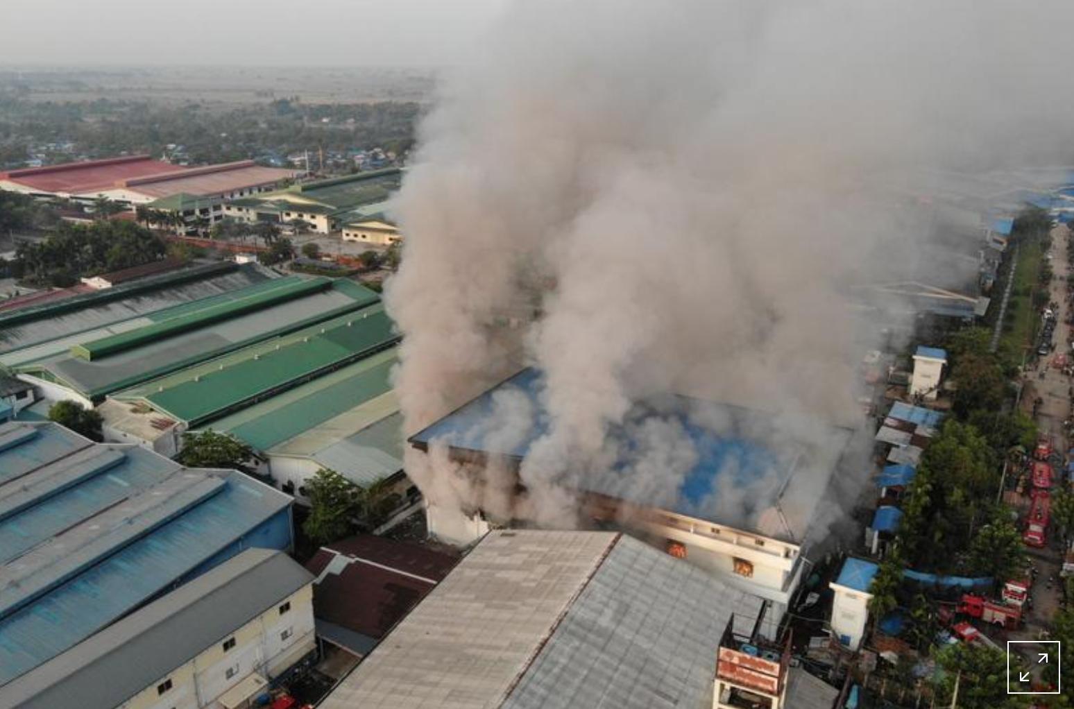 Lực lượng an ninh Myanmar bắn chết 13 người biểu tình