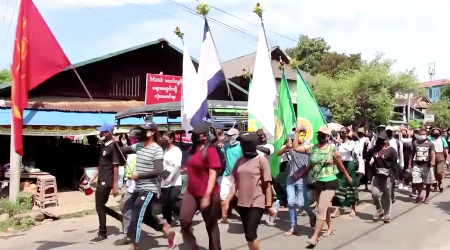 Quân đội Myanmar cho biết các cuộc biểu tình đang giảm dần khi ít nhất 10 người bị quân đội bắn chết
