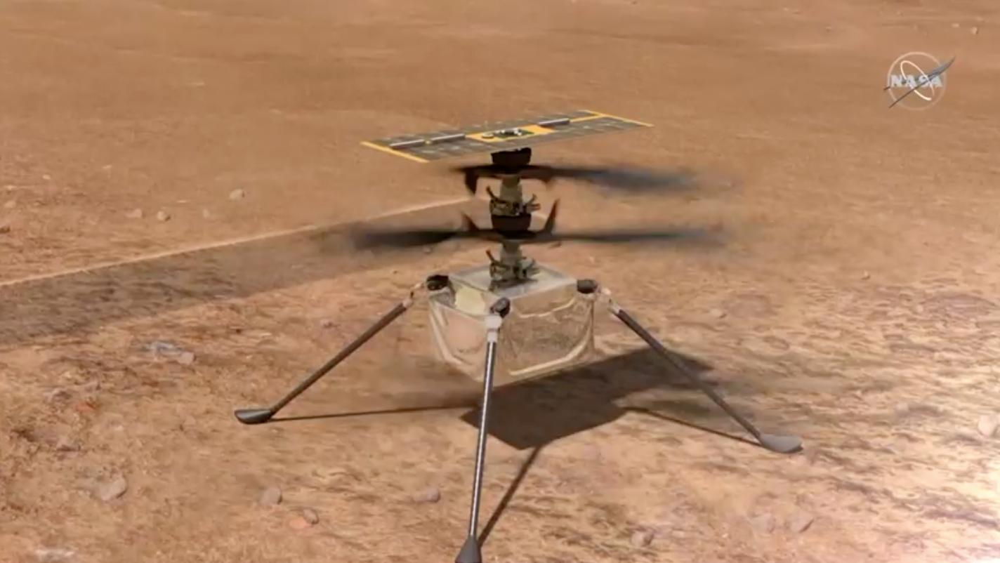 NASA hoãn chuyến bay trực thăng đầu tiên trên bề mặt Sao Hỏa