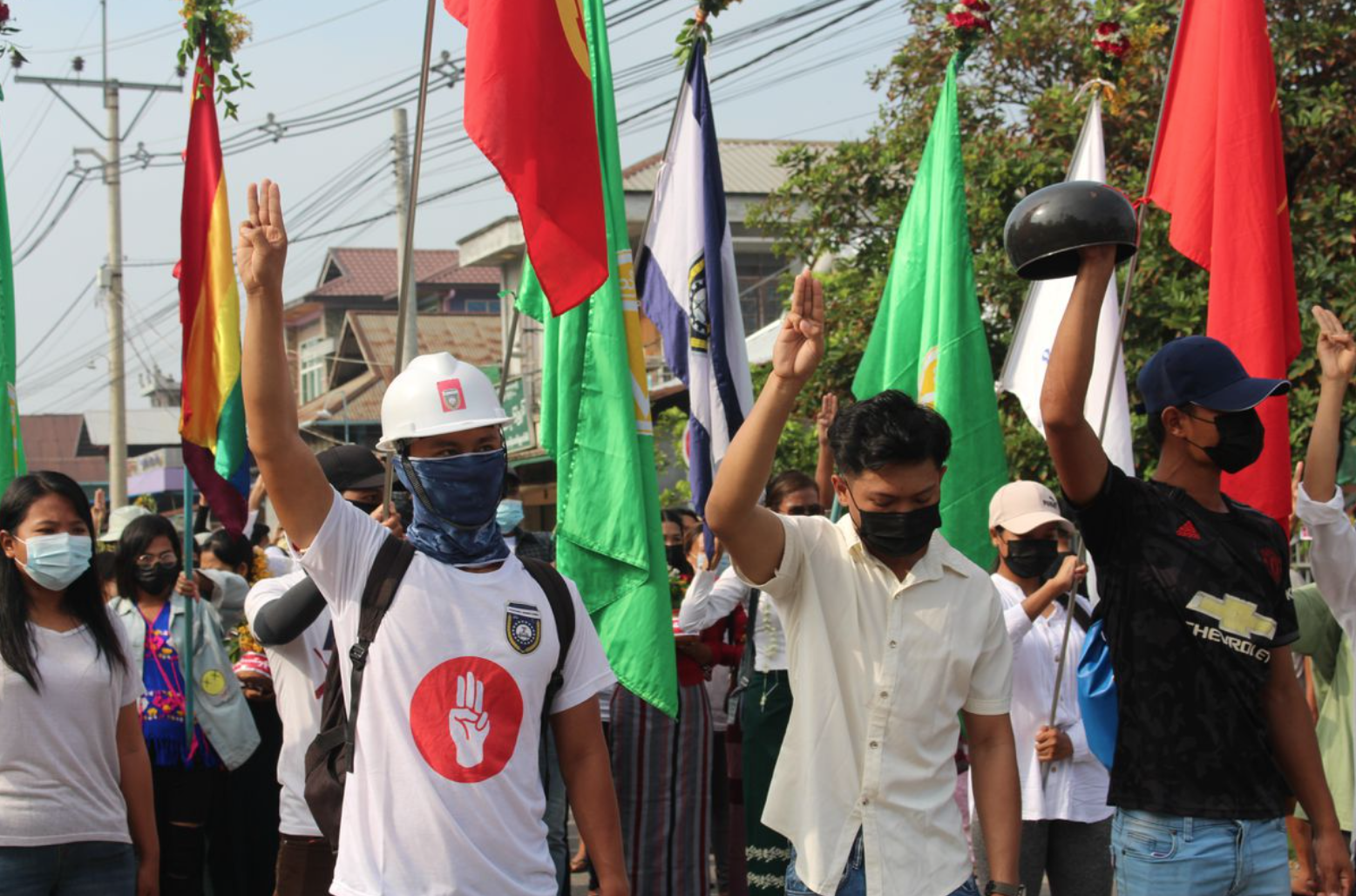 Lực lượng an ninh Myanmar bắt giữ thủ lĩnhcủa chiến dịch chống đảo chính