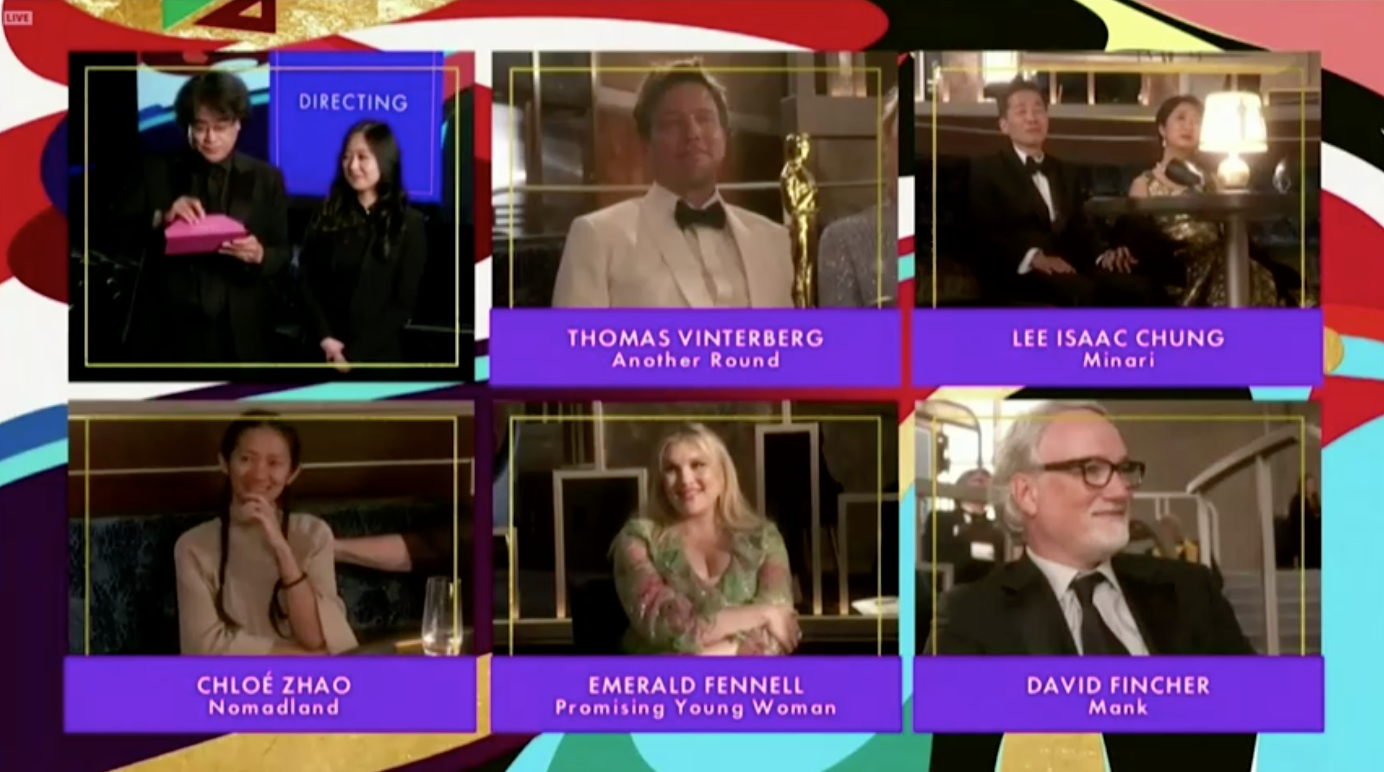 Nomadland giành giải Oscar cho bộ phim xuất sắc nhất