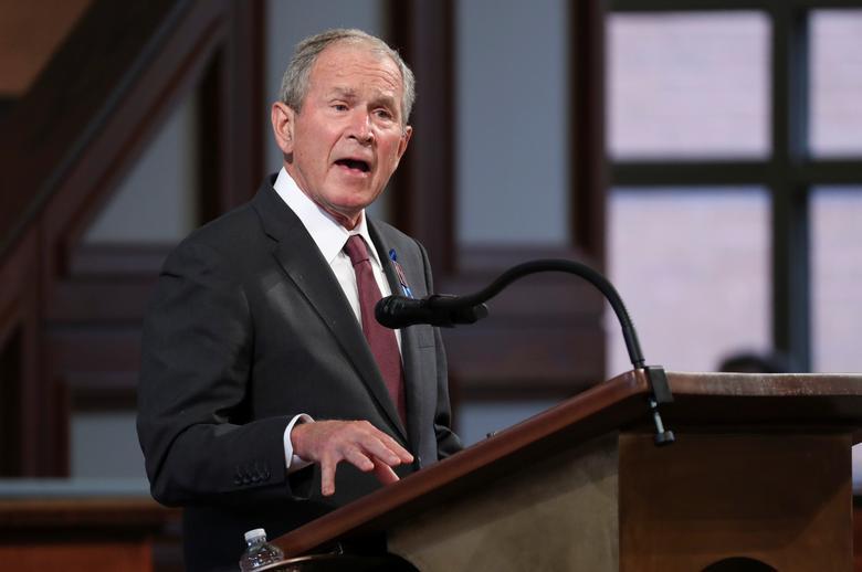Cựu Tổng Thống George W. Bushtiết lộứng cử viênông lựa chọntrong cuộc bầu cử năm 2020