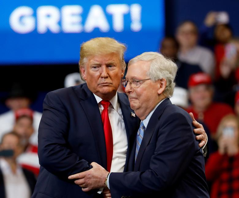 Cựu Tổng Thống Trump lặp lại những tuyên bố không bằng chứng về cuộc bầu cử và lăng mạ ông Mitch Mcconnell
