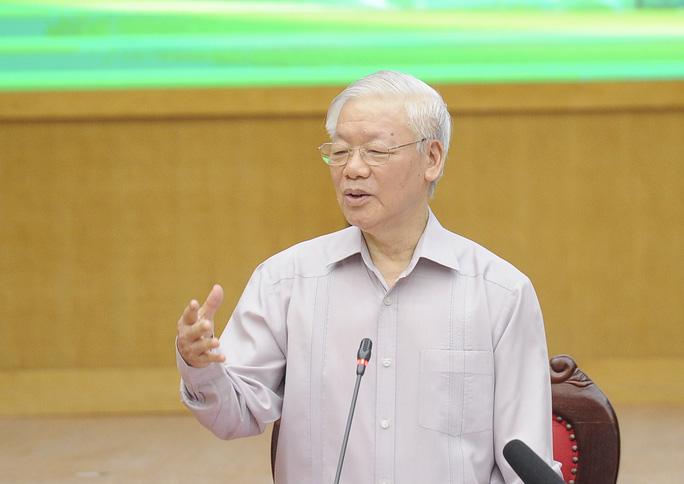 Nguyễn Phú Trọng nói vì số khổ muốn về nghỉ hưu nhưng vẫn phải tiếp tục làm tổng bí thư