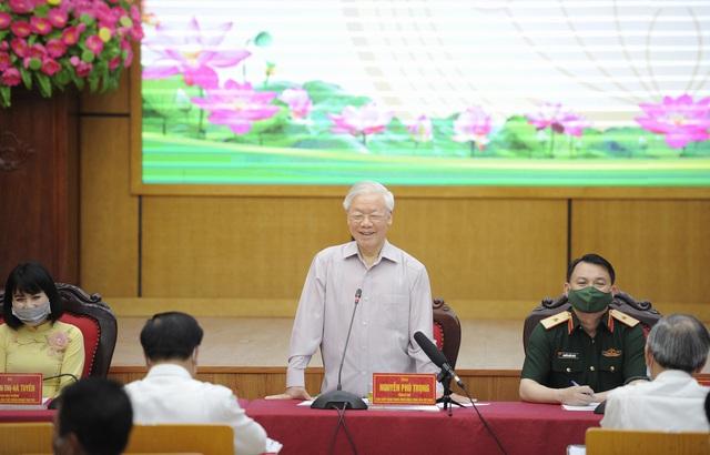 Nguyễn Phú Trọng lại khẳng định: toàn dân đồng tình với nhận định đất nước chưa bao giờ có cơ đồ như ngày nay
