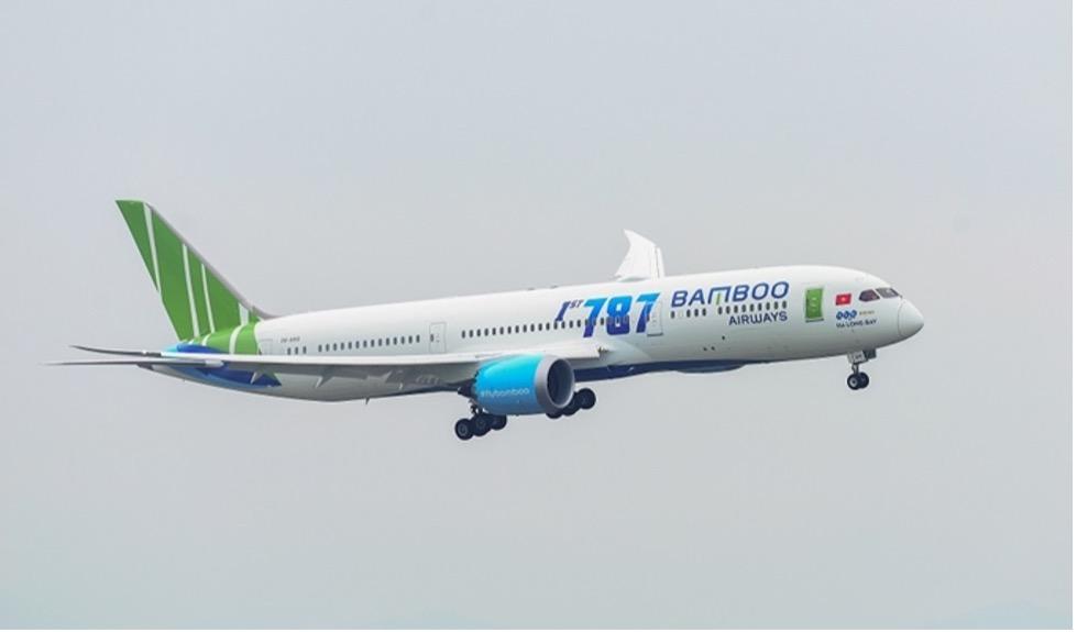 Hãng hàng khôngBambooViệt được cấp phép bay thẳng tới Hoa Kỳ từ tháng 9