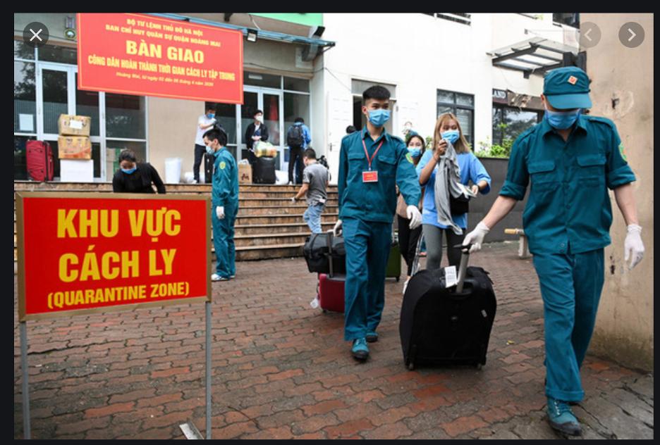 Anh và Hoa Kỳkhuyến cáocác công dân của mình về COVID-19 ở Việt Nam