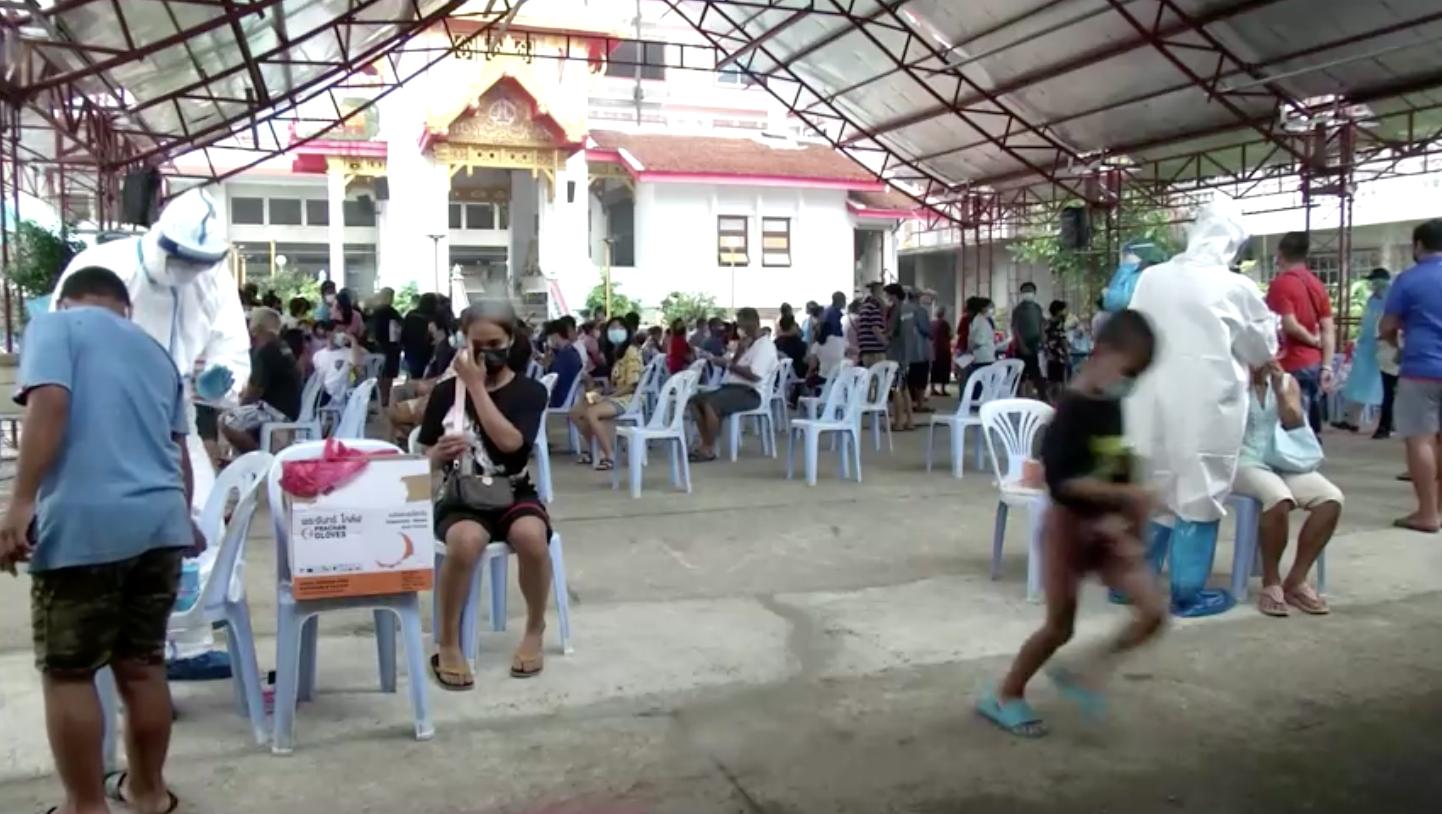 Thái Lan báo cáo 2,419 trường hợp nhiễm coronavirus mới, 19 ca tử vong