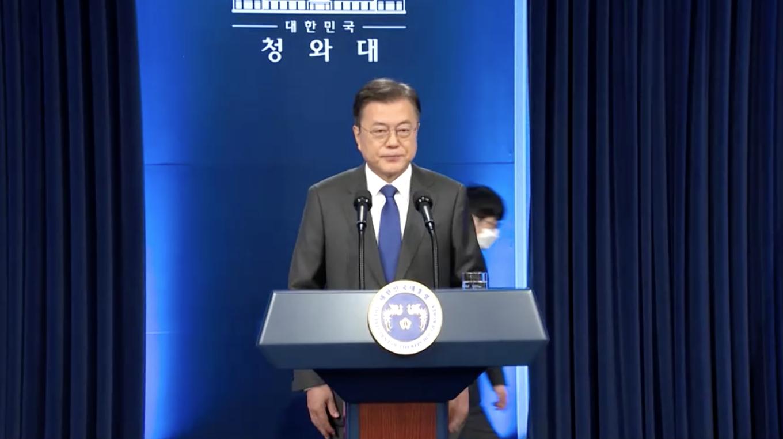 """Tổng Thống Nam Hàn tuyên bố """"đã đến lúc cần có hành động"""" với Bắc Hàn trước hội nghị thượng đỉnh với Tổng Thống Joe Biden"""