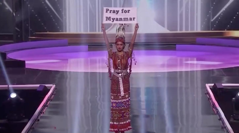 Phần thi trang phục dân tộc trong cuộc thi Hoa Hậu Hoàn VũThế Giới mang đến nhiều thông điệp ý nghĩa