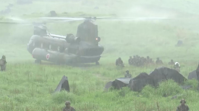 Nhật Bản, Hoa Kỳ, Pháp tổ chức tập trận quân sự để đối phó Trung Cộng