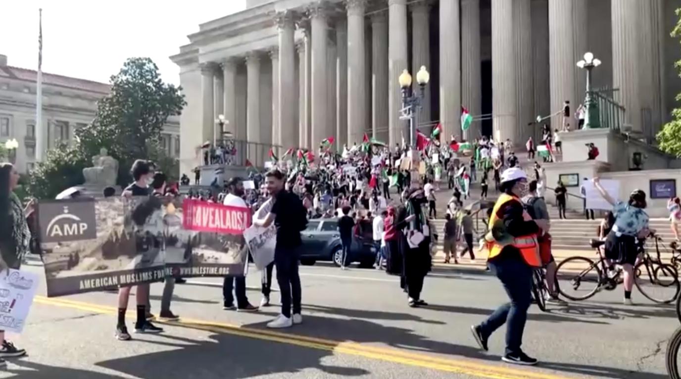 Biểu tình diễn ra khắp Hoa Kỳ để phản đốicác cuộc không kíchcủa IsraelvàoGaza