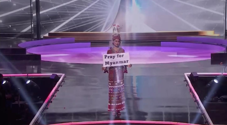 Thí sinh hoa hậu hoàn vũ Myanmar kêu gọi thế giới chống chính quyền quân sự