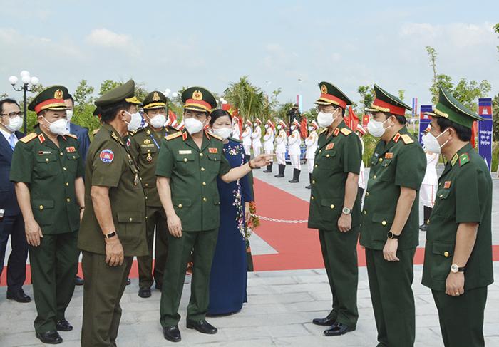 Tỉnh Bình Phước khánh thành công trình lưu niệm hành trình cứu nước của Thủ Tướng Cambodia Hun Sen