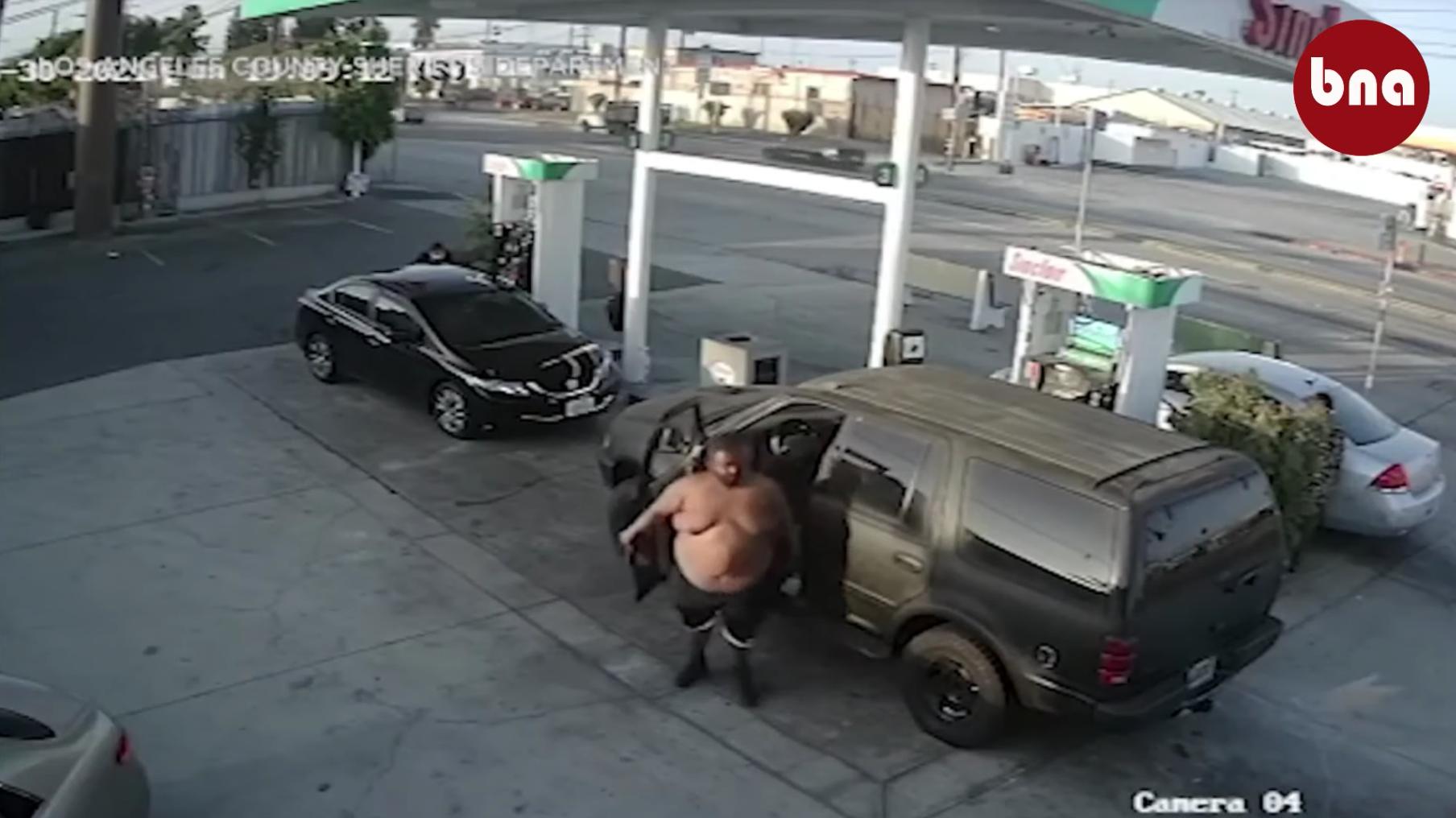 Cảnh sát bắt giữnghi can trong vụ tấn công tại trạm xăng ở Gardena
