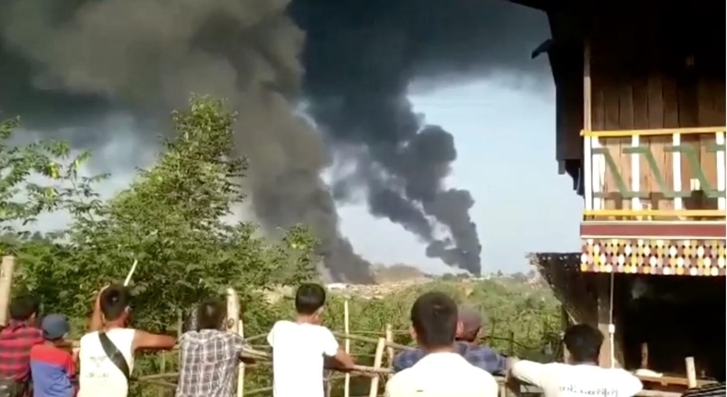 12 người thiệt mạng trong vụ rơi máy bay quân sự Myanmar
