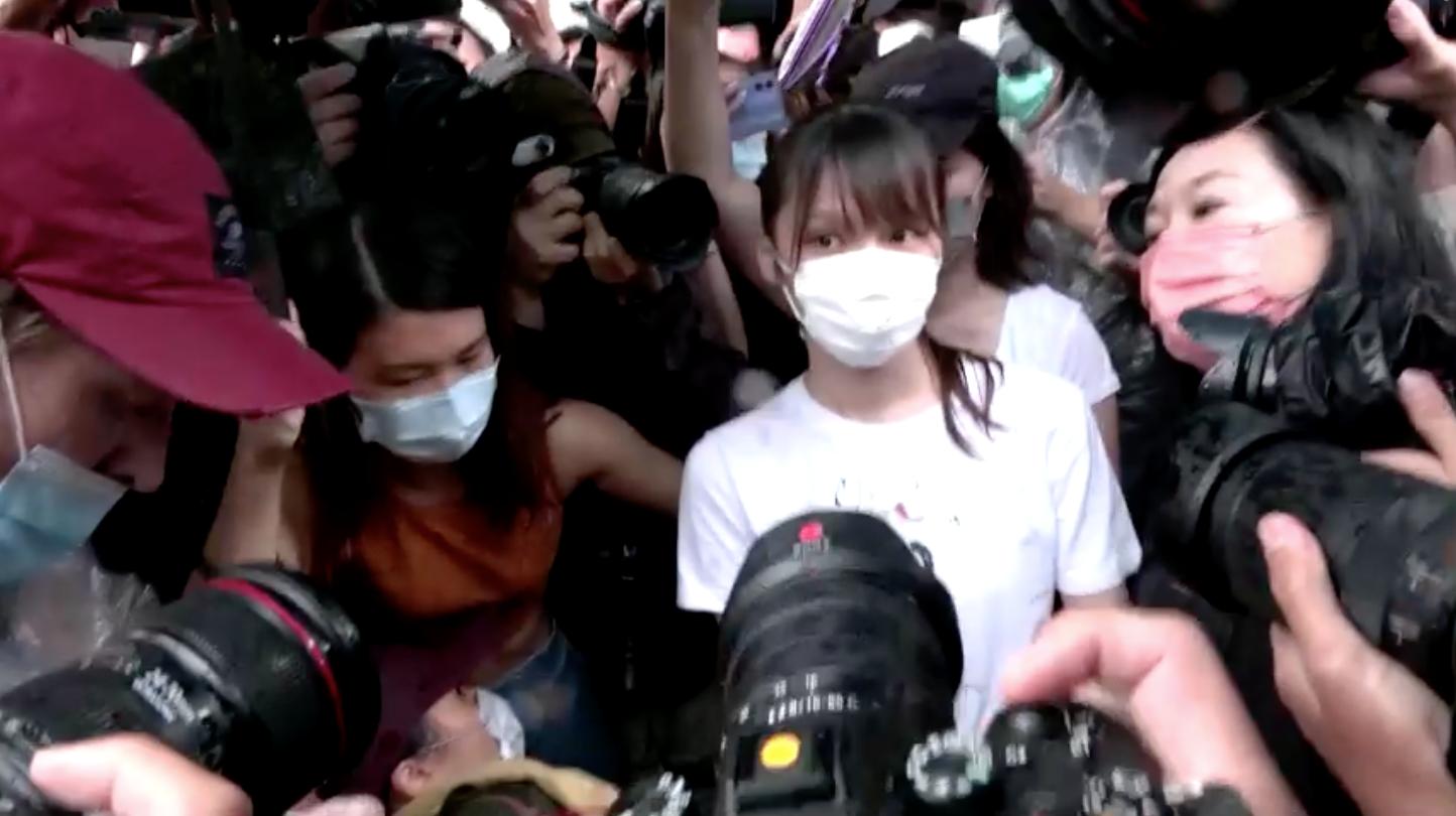 Nhà hoạt động dân chủ Hồng Kông Agnes Chow được ra tù