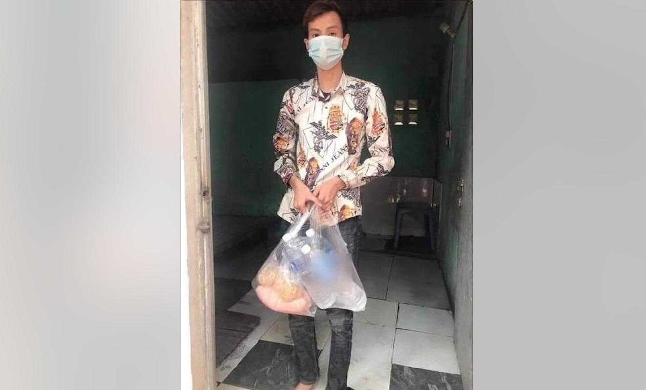 Một thanh niên nhịn đói 3 ngày không có gì ăn vì bị cách ly