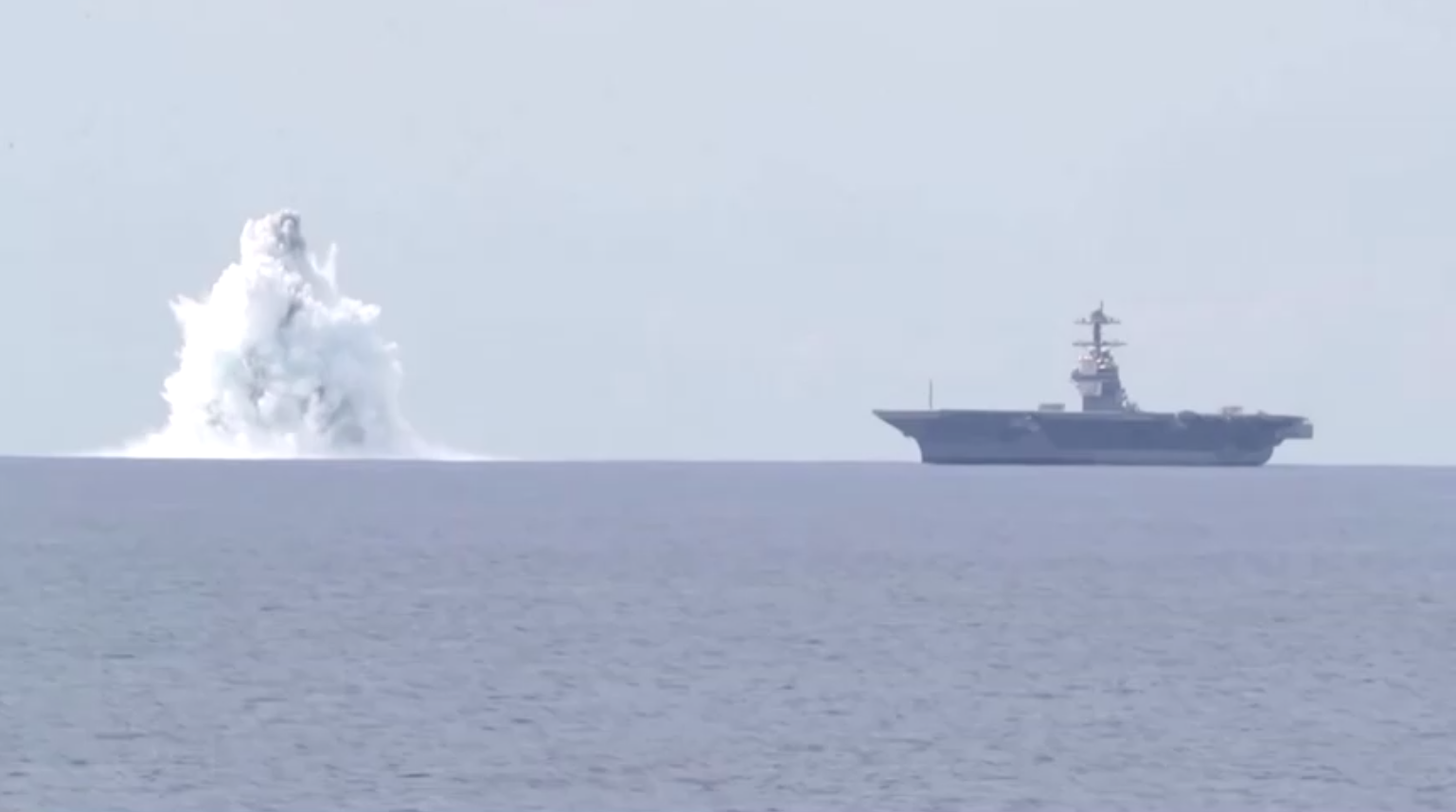 Hải Quân Hoa Kỳ thử nghiệm sức chịu đựng của hàng không mẫu hạm