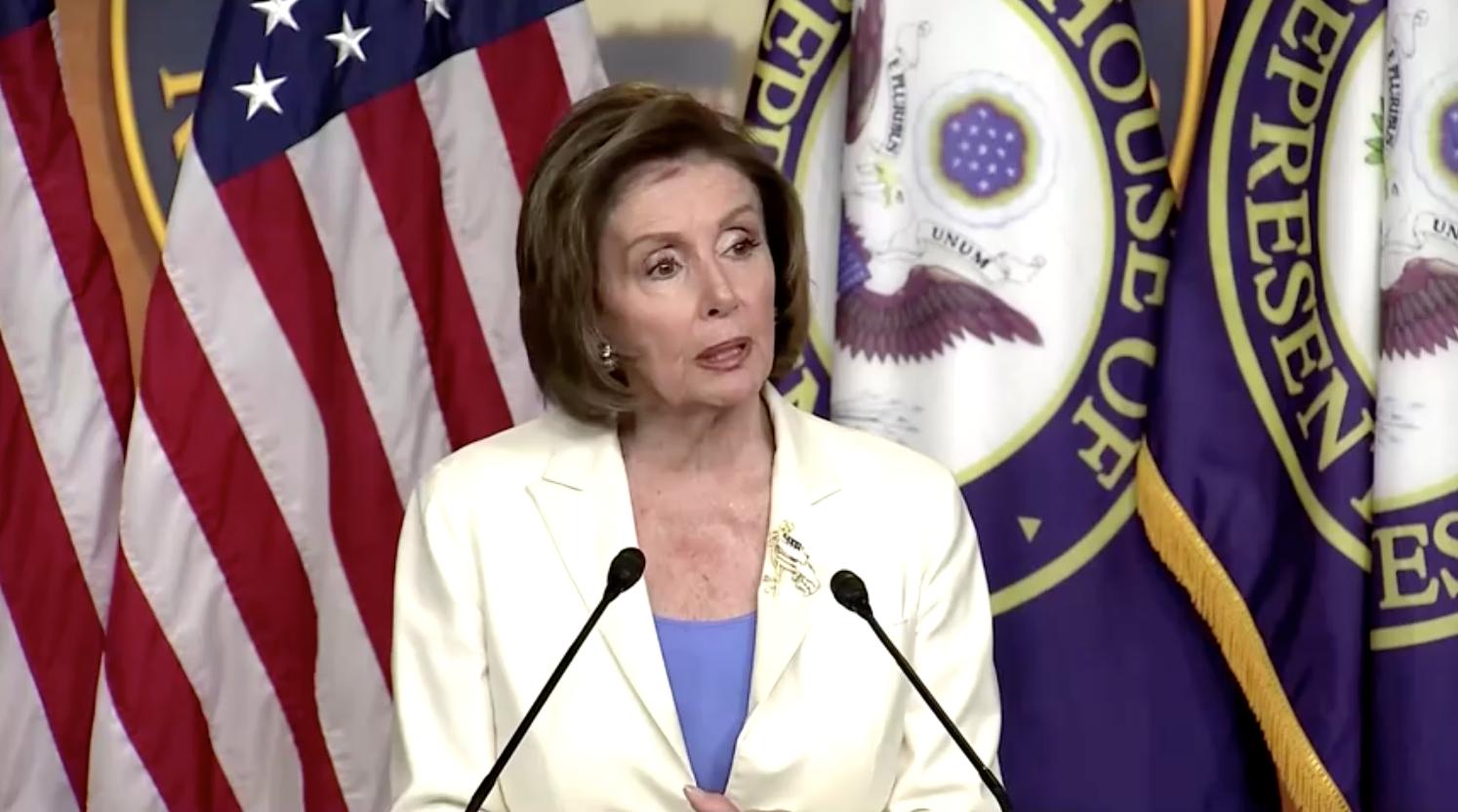 Chủ Tịch Hạ Viện Nancy Pelosi công bố dự luật thành lập uỷ ban điều tra vụ bạo loạn ngày 6/1