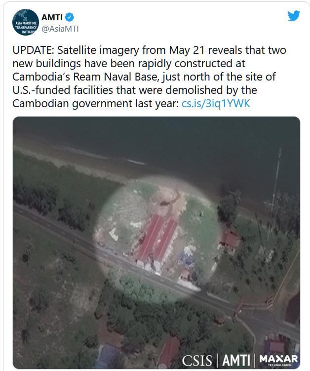 Hoa Kỳ bị từ chối quyền tiếp cận hoàn toàn căn cứ hải quân Cambodia trong chuyến thăm của tùy viên quốc phòng