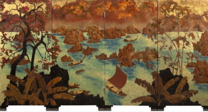 Bức tranh của họa sĩ người Việt thu về 1 triệu mỹ kim tại buổi đấu giá ở Pháp