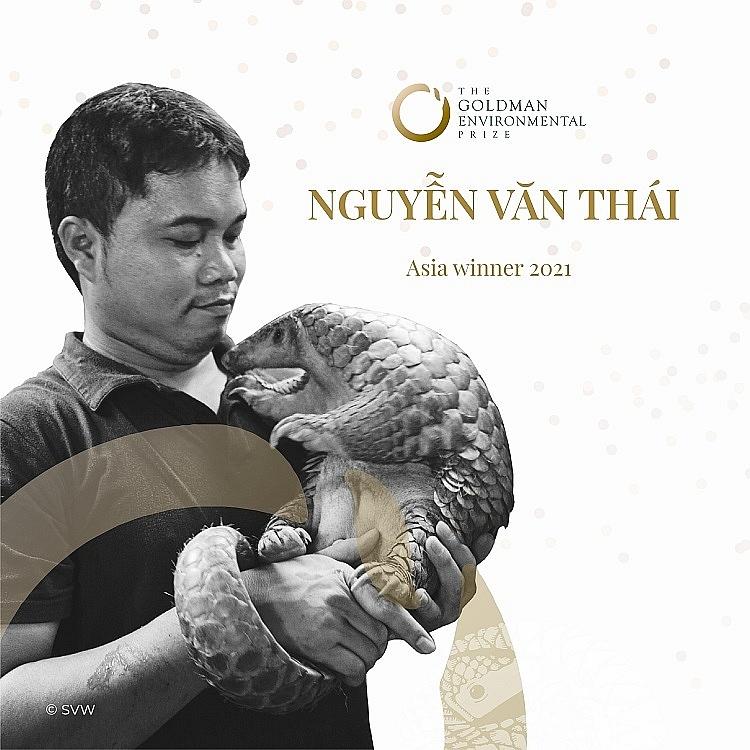 """Nhà bảo tồn tê tê người Việt Nam thắng giải môi trường """"Nobel Xanh"""" danh giá"""