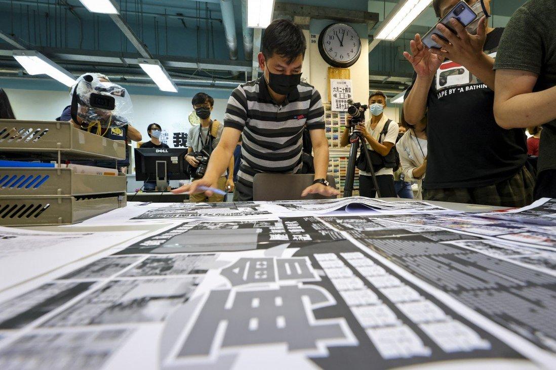 Bốn cựu nhân viên Apple Daily bị buộc tội âm mưu cấu kết với thế lực ngoại quốc