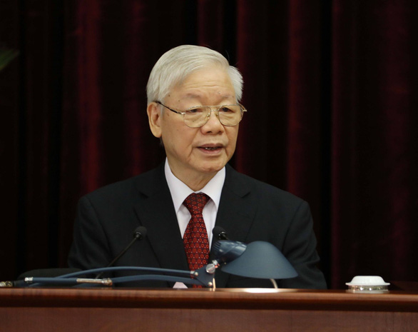 Đại dịch hoành hành nhưng ông Nguyễn Phú Trọng nói người dân đang hân hoan, phấn khởi vì đại hội thành công rực rỡ