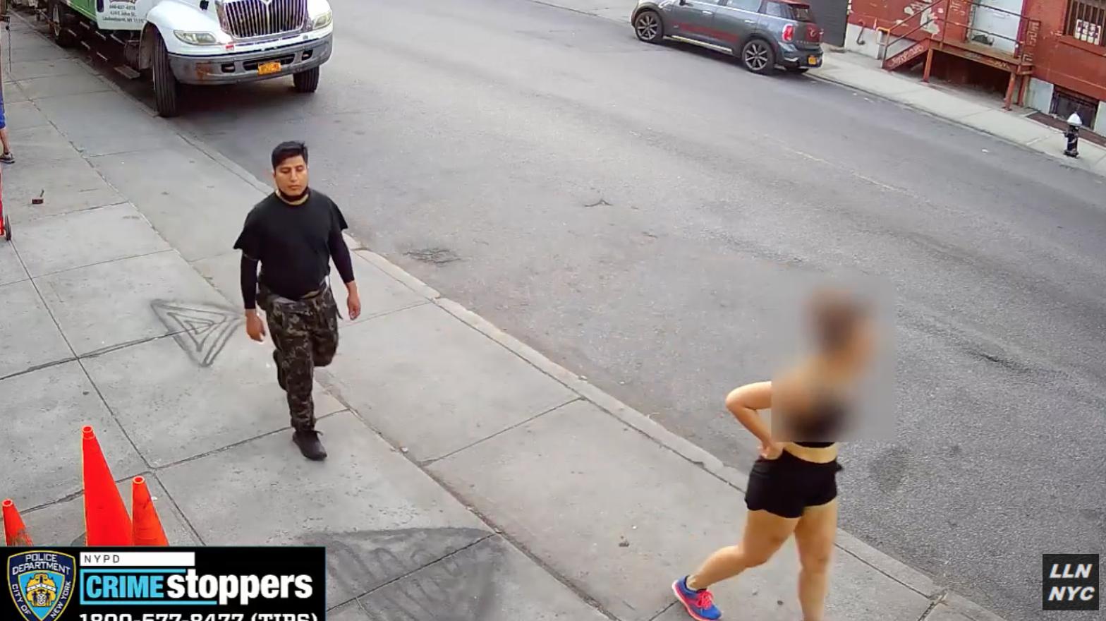 """Cảnh sát tìm kiếm kẻ """"sàm sỡ"""" phụ nữ ở thành phố New York"""