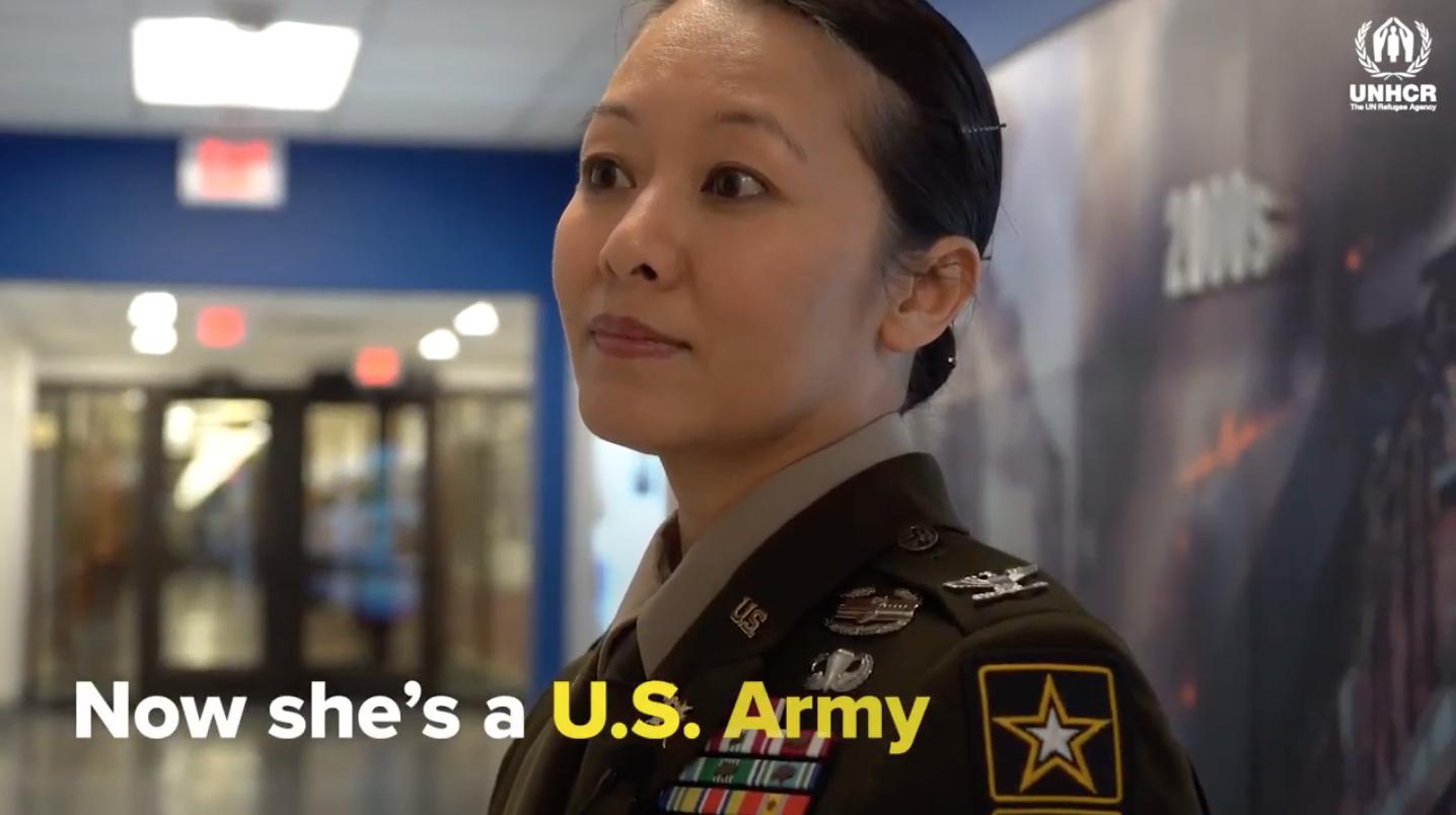 Nữ đại tá Lục Quân Hoa Kỳ Danielle Ngô chia sẻ về lòng trắc ẩn trong thời điểm chạy tị nạn