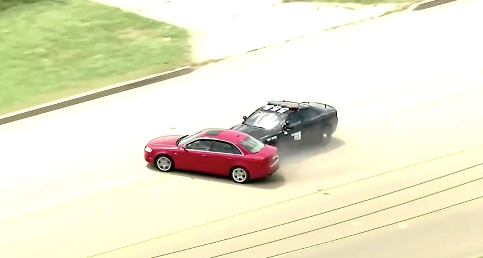 Cuộc rượt đuổi nghi can đầy kịch tính của cảnh sát Oklahoma