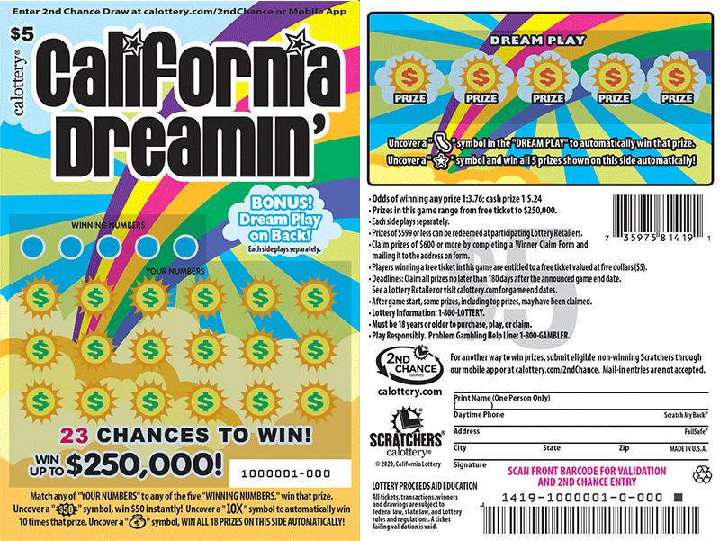 4 người may mắn ở Bay Area trúng vé số cào với tổng giải thưởng 18 triệu mỹ kim