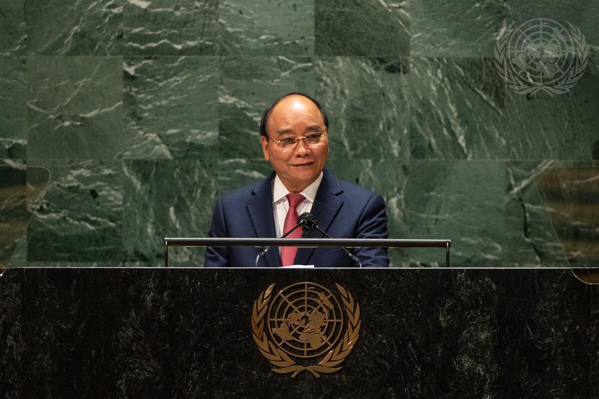 Ông Nguyễn Xuân Phúc yêu cầu các nước phát triển phải có trách nhiệm hỗ trợ nước nghèo về vaccine