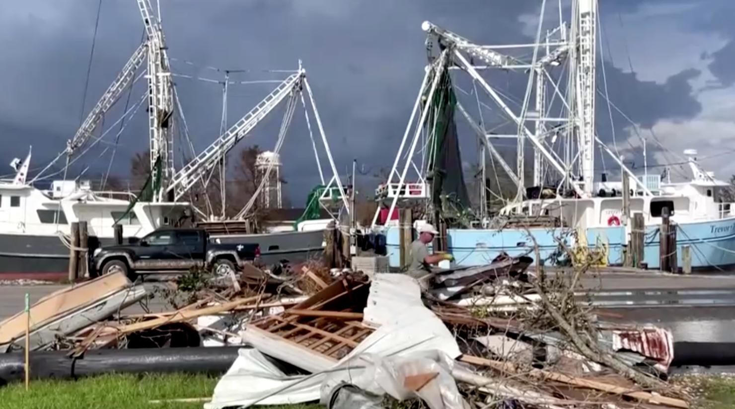 Bão IDA có thể khiến người dân Louisiana mất điện trong một tháng