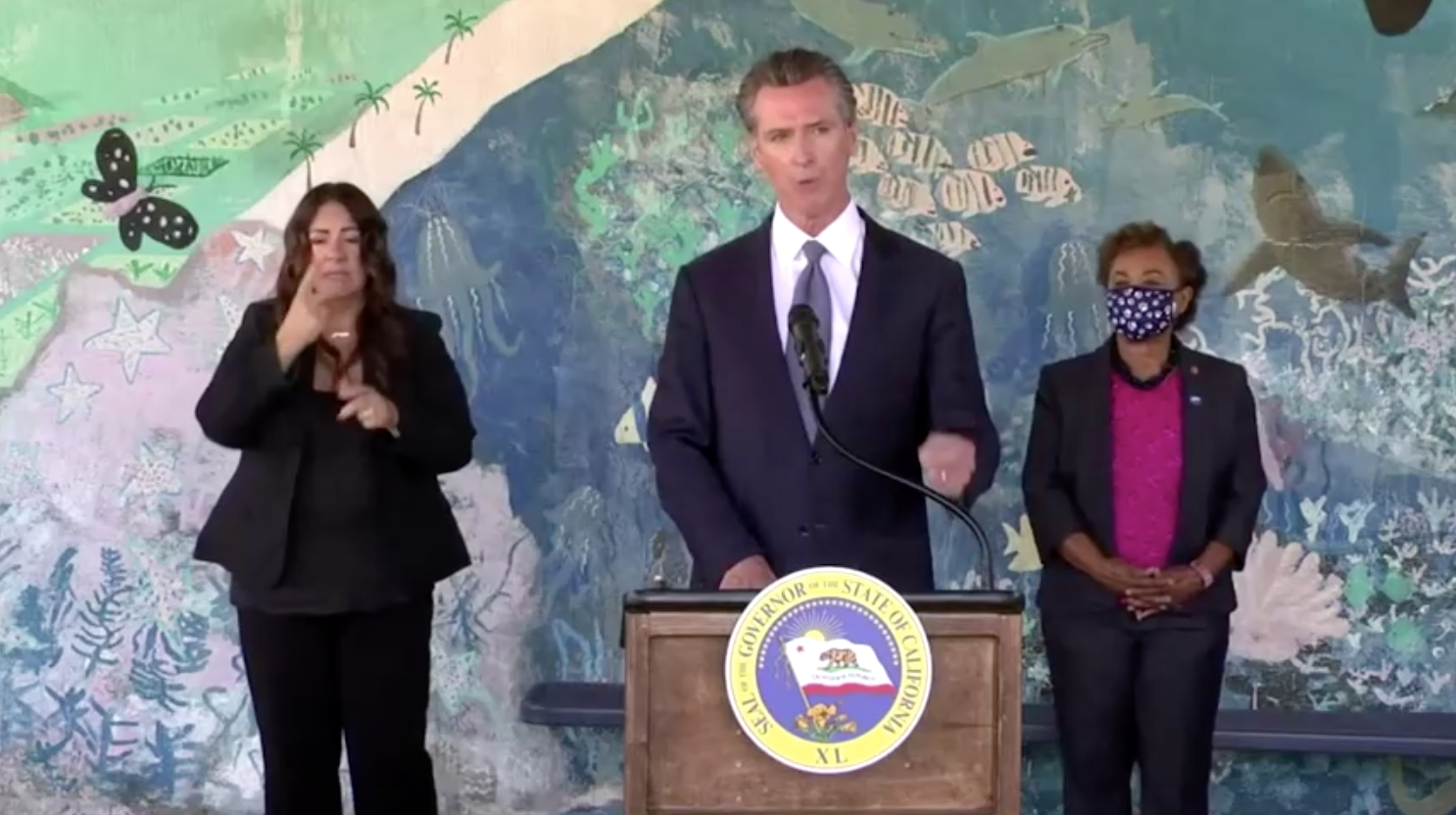 Thống Đốc Newsom, Larry Elder vận động cử tri ở Nam California trước cuộc bầu cử bãi nhiệm